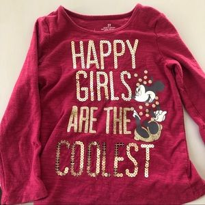 Disney Minnie Happy Girls are the Coolest Shirt